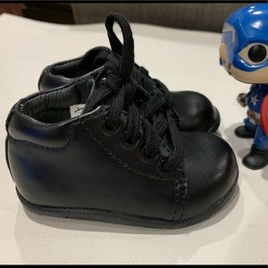 Stride Rite Shoes - New Stride Rite Elliot Black Leather Infant Shoes